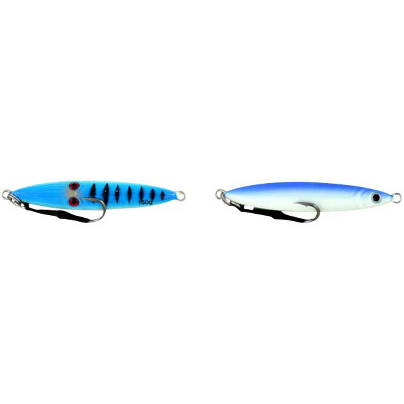 Vertical Jig Sinistra Blue/White 5.25 ounce - Almost Alive Lures