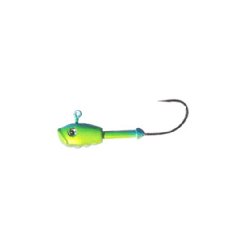 Jig Head Enif Chartreuse/Green 3.5 ounce - Almost Alive Lures