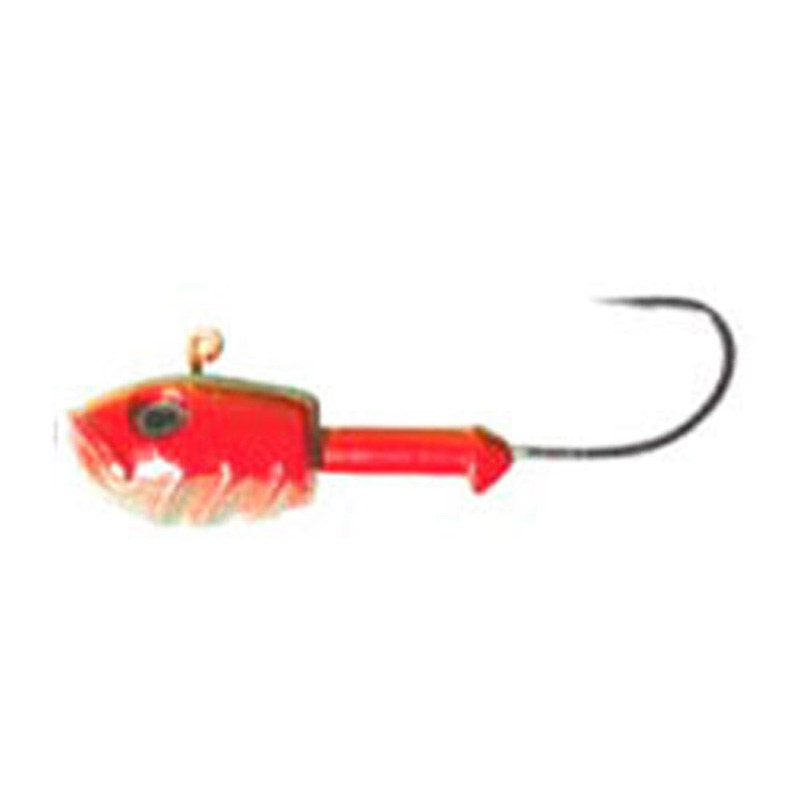 Jig Head Enif Red 3.5 ounce - Almost Alive Lures