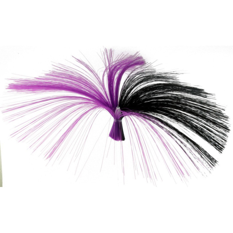 Witch Type Lure, 10g, Purple, Black Hair