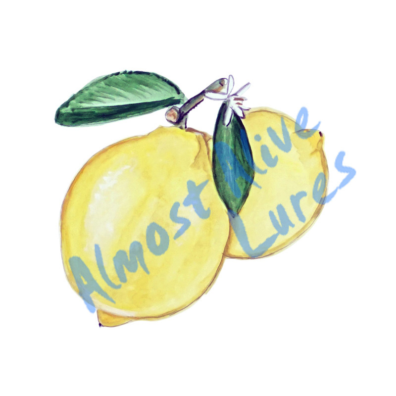 Lemons - Printed Vinyl Decal
