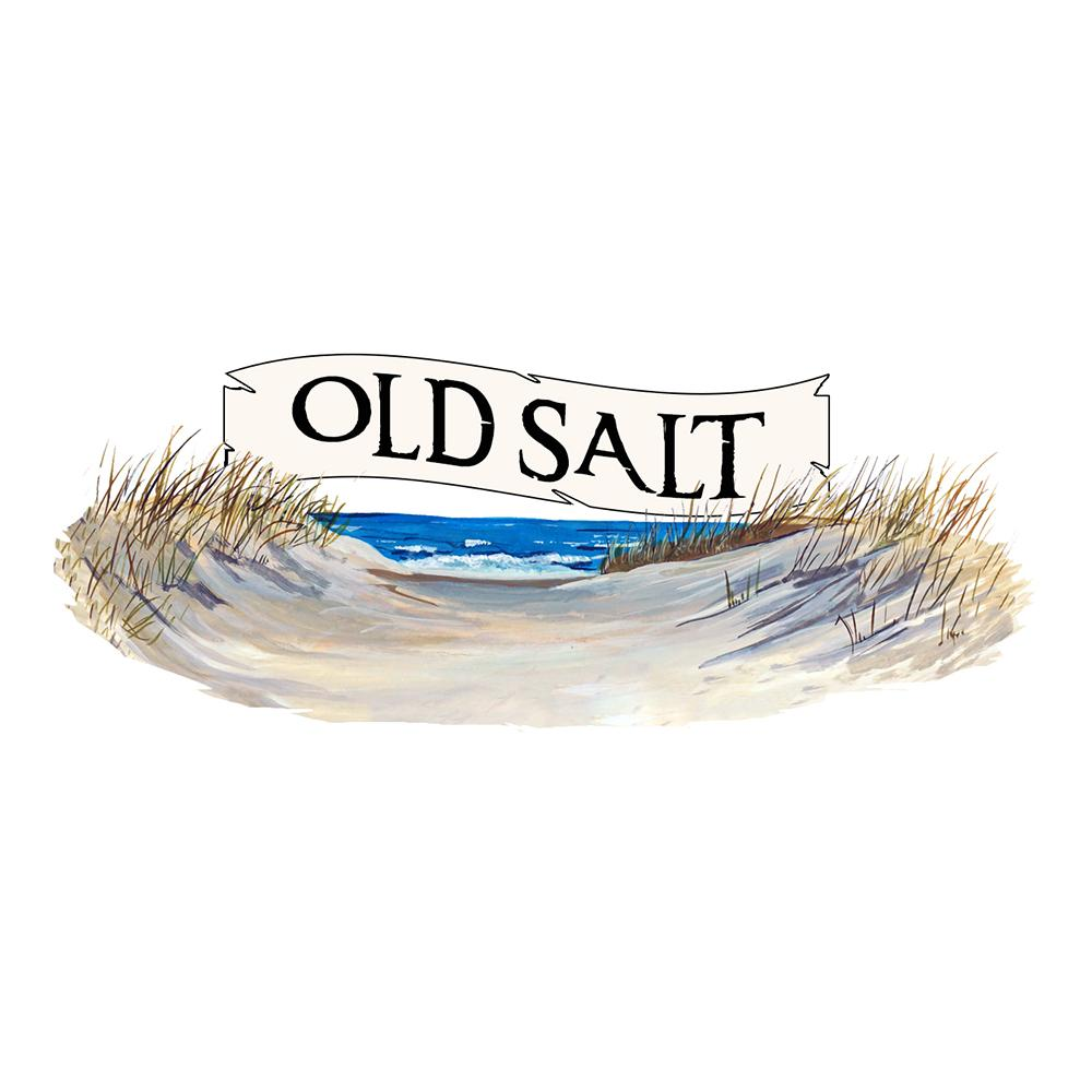 """Old Salt"" - Beach Scene"