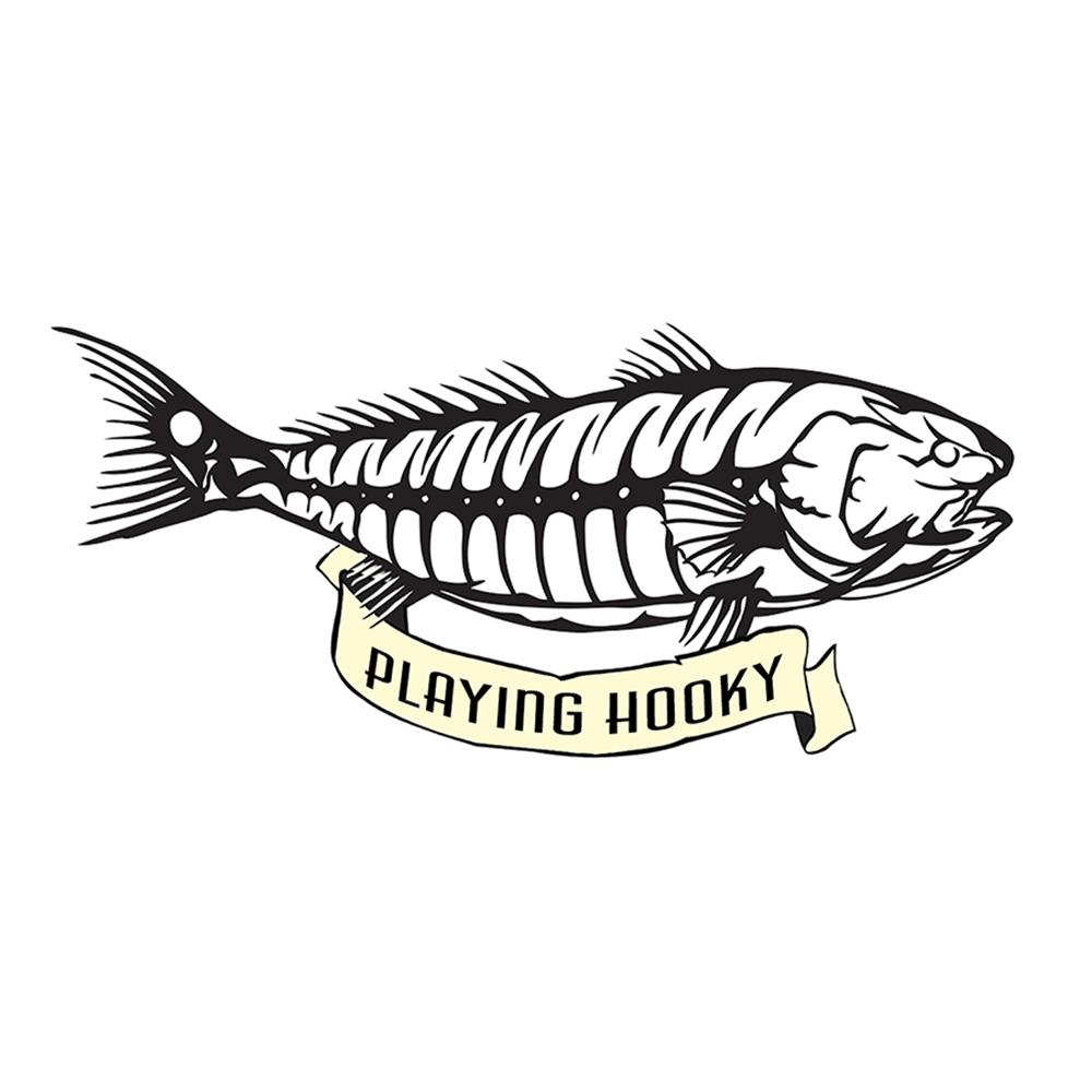"""Playing Hooky"" - Red Fish Bones"
