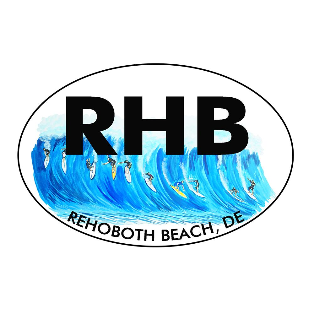 Rehoboth Beach Surfing Oval