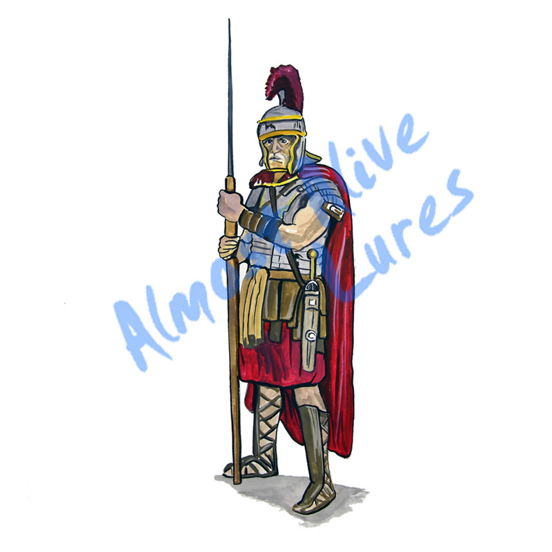 Roman Soldiers - Printed Vinyl Decal