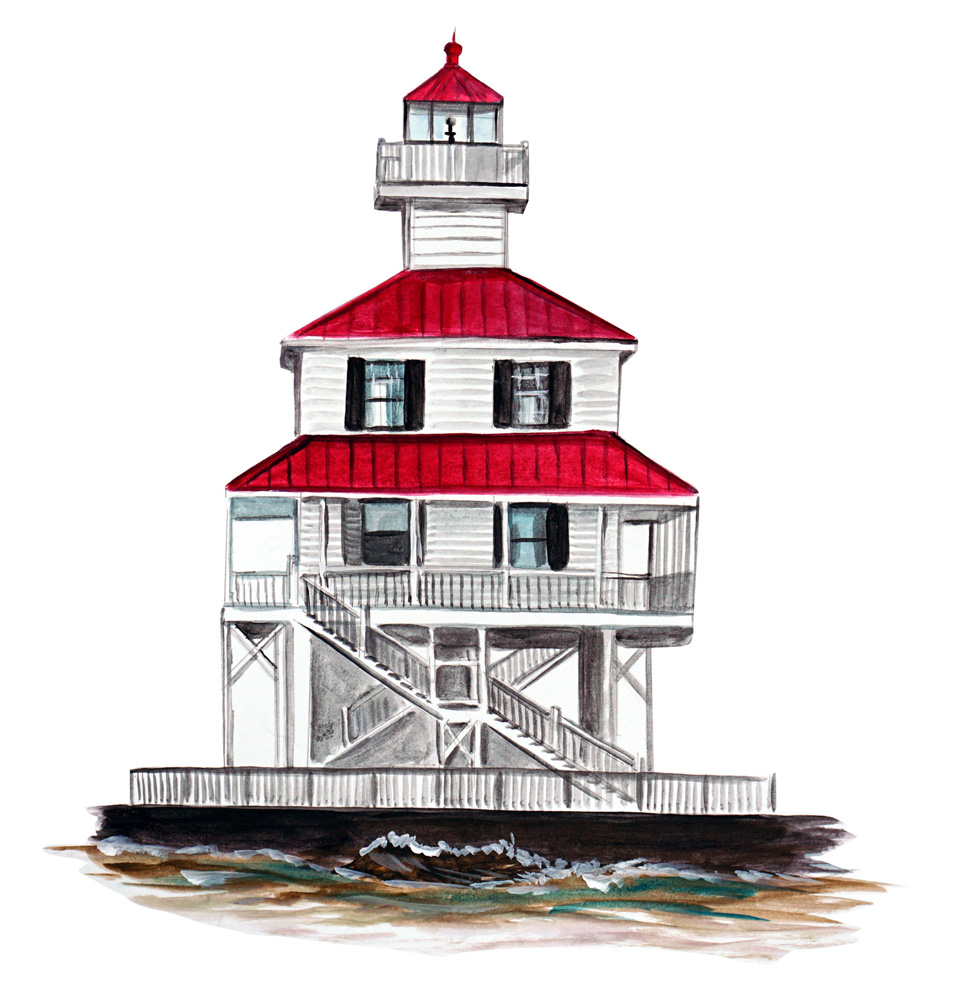 New Canal Light - Printed Vinyl Decal