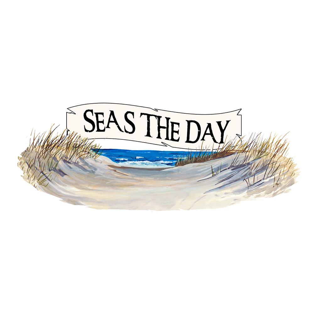 """Seas The Day"" -Beach Scene"