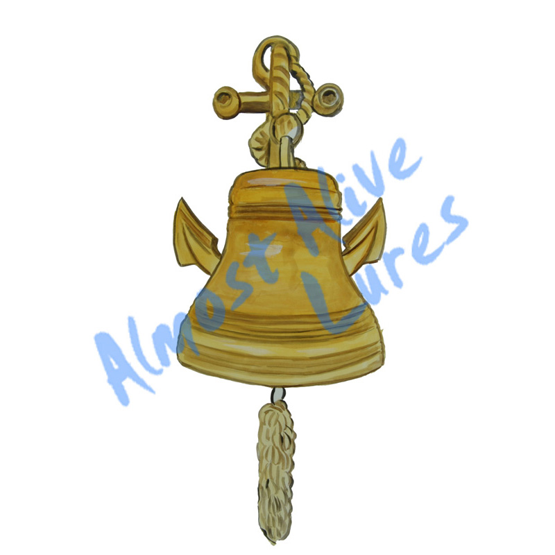Ship Bell - Printed Vinyl Decal