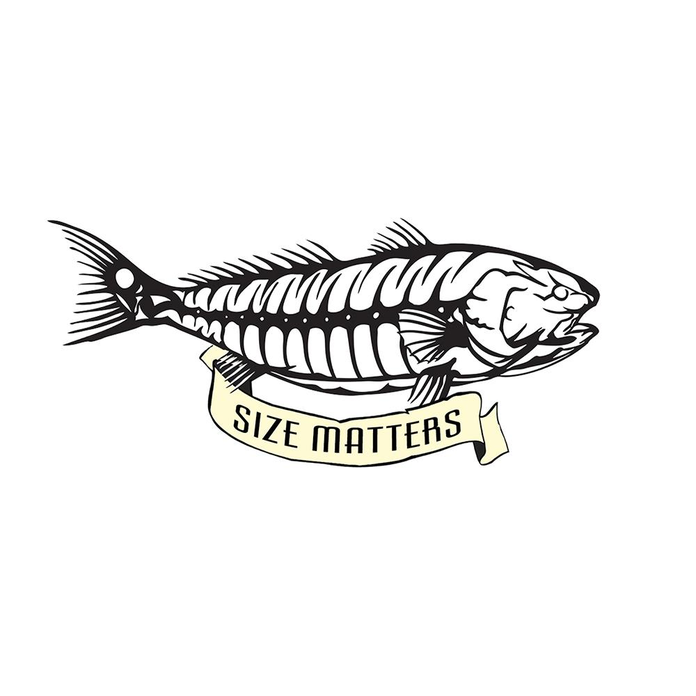"""Size Matters"" - Red Drum Bones"