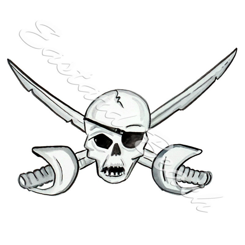 Skull And Swords