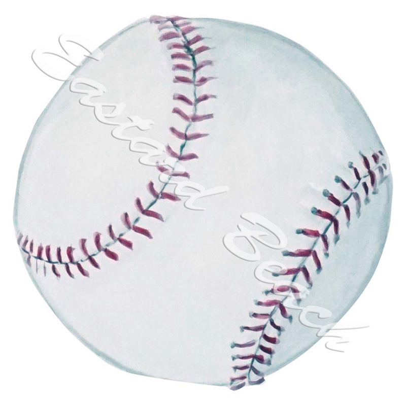 Softball - Printed Vinyl Decal