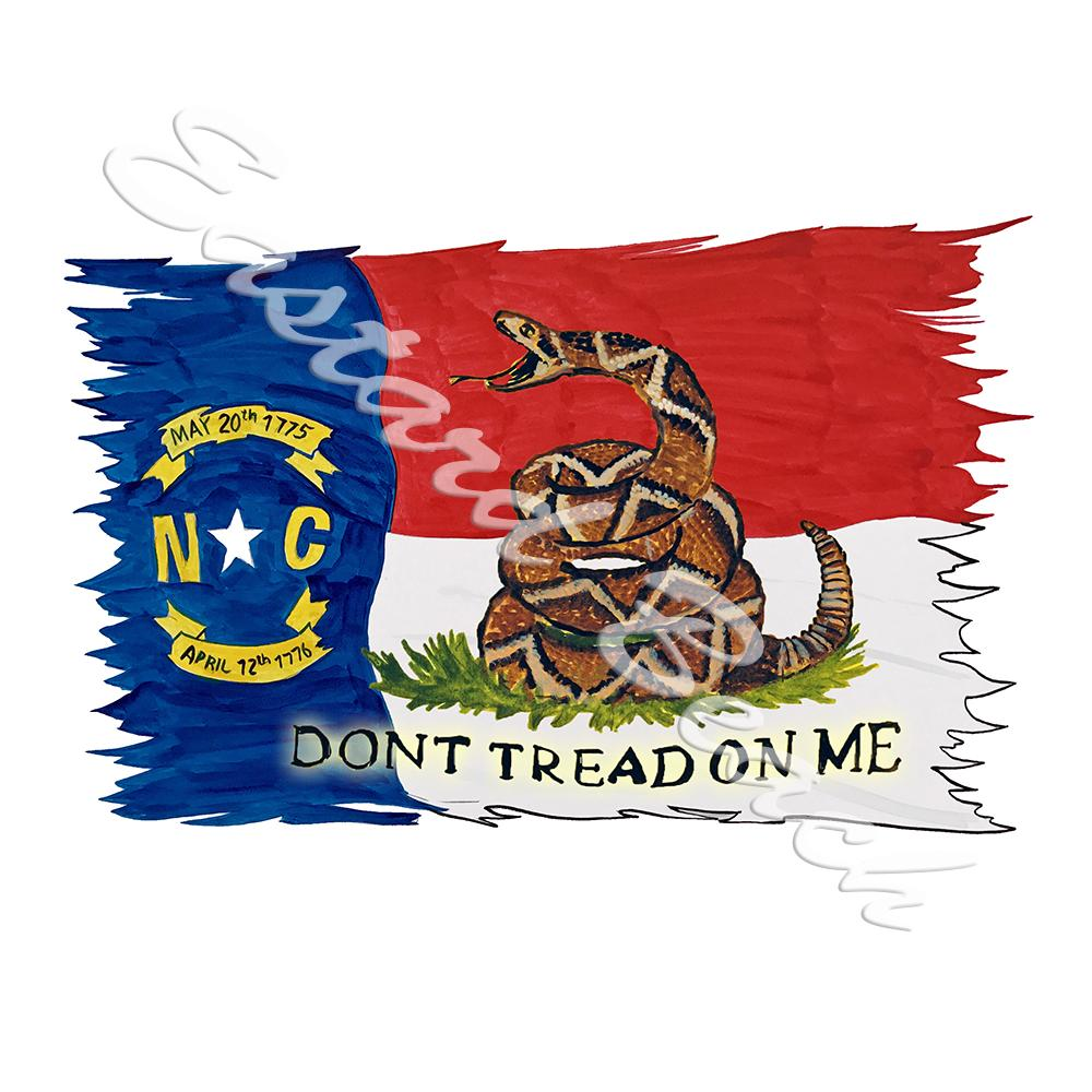 NC Flag - Don't Tread On Me