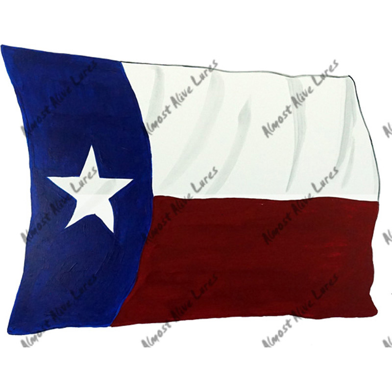 Texas Flag - Printed Vinyl Decal