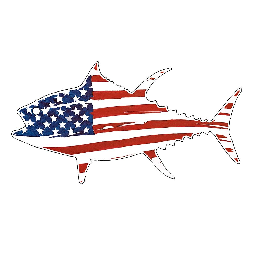USA Flag Tuna
