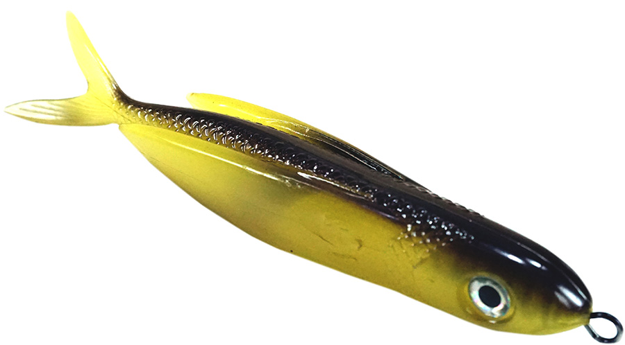"Almost Alive Lures 8.5"" Soft Plastic Flying Fish with Swep"