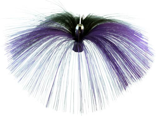 Witch Lure, Chrome Jet Head, 62g, With 6-1⁄2 Inch Purple,