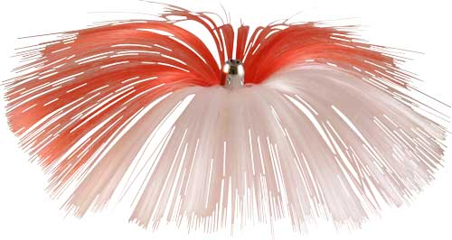 Witch Lure, Chrome Jet Head, 62g, With 6-1⁄2 Inch Red, Whi