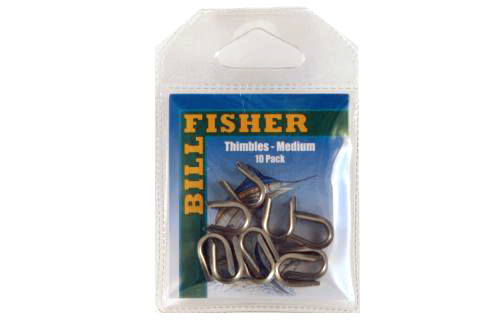 Billfisher Ssthm-10 Thimble Stnls Med 10pk