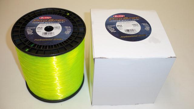 Fishing line berkley pro spec 80lb test 2400yds for Fluorescent fishing line
