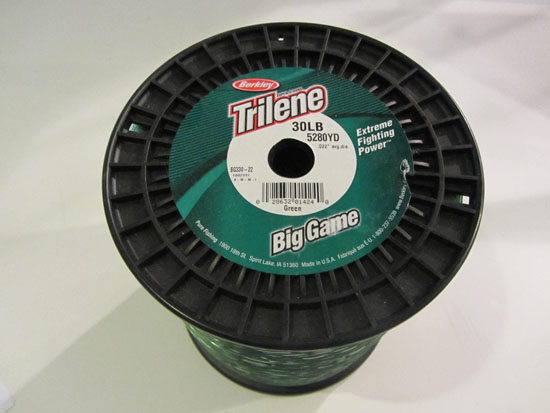 Fishing line berkley big game 30lb test 5280yds moss green for Fishing line test