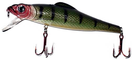 Lure, Hard Plastic, 2 Treble Hook, 140 Mm