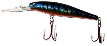 Lure, Hard Plastic, 2 Treble Hook, 120 Mm