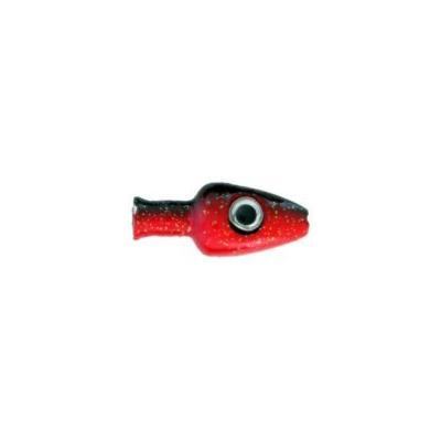 Witch Head 30g Red Black Lure Head