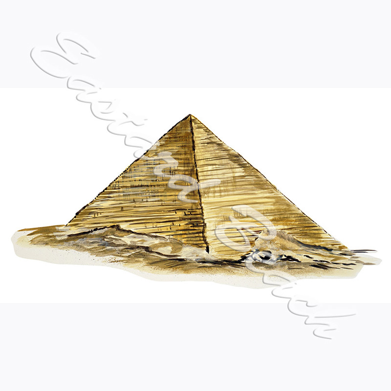Pyramid - 4.897 x 10.268 Inches