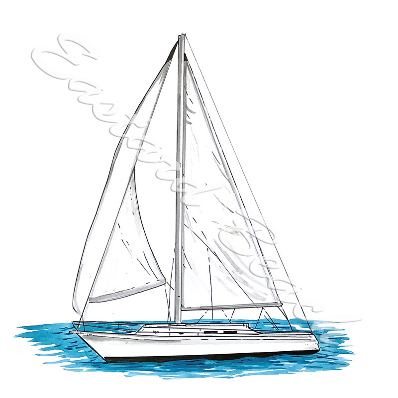 Sloop, Sailboat